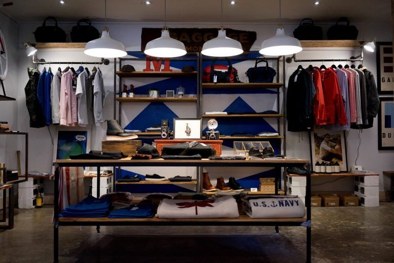 Store Clothing Shop Boutique Wardrobe