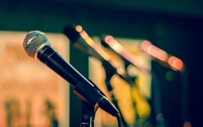 Mic Microphone Sound Check Sing Perform Studio