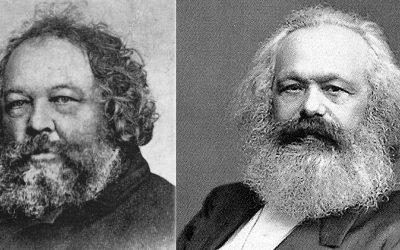 Mikhail Bakunin, Karl Kraepelin are posing for a picture